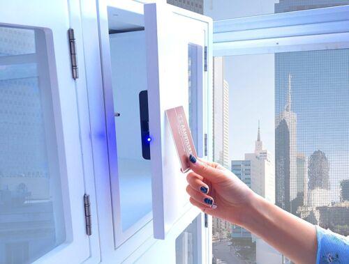 Hidden RFID cabinet lock for concealed wooden drawer/cabinet