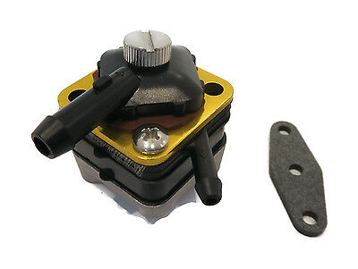 FUEL PUMP w/ GASKET for Johnson Evinrude 18-7350 6hp 8hp 9.9hp 15hp Engine Motor
