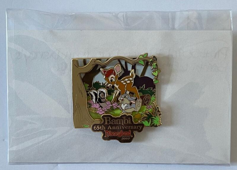 Disney DLR LE 1000 Walt Disney's Bambi 65th Anniversary Pin