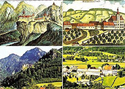 Schloß Scharnstein ,ungelaufene Ansichtskarte