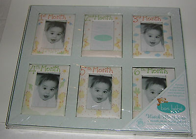 Bon Bebe Baby Picture Frames - Watch Me Grow - For Boy Or Girl -