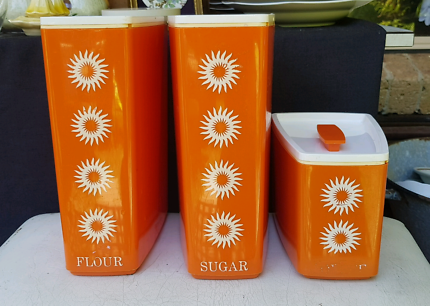 Vintage/ Retro Kitchen Canisters