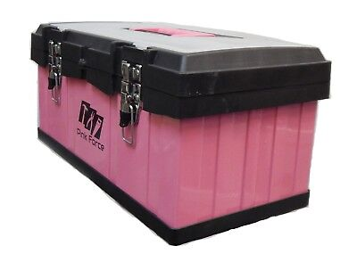 Ladies Pink Tool Box, Metal Heavy Duty, Brand New, Sale With FreeDelivery