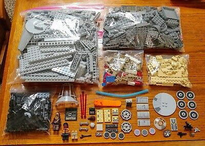 GENUINE LEGO STAR WARS MILLENNIUM FALCON (75105) SET - 97% COMPLETE