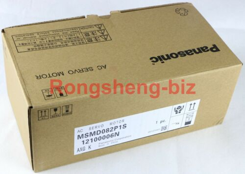 1pc New Panasonic Msmd082p1s Servo Motor 750w In Box #wm06