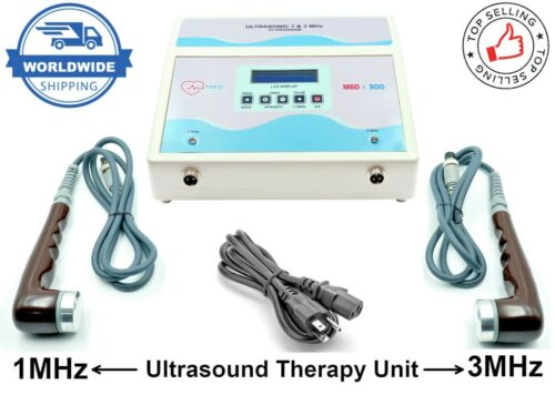 New Ultrasound Therapy Machine Physiotherapy 1MHz & 3MHz Ultrasound Therapy Unit