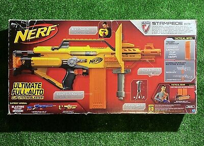 Nerf N-Strike STAMPEDE ECS Electric Auto Dart Blaster NEW IN BOX