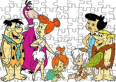 PERSONALISED Flintsones   JIGSAW PUZZLE A4 120 PIECE Great Gift Idea  Free PP