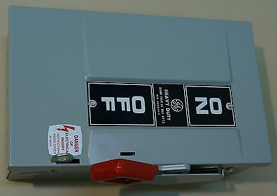 Ge Th3221 Safety Switch 30 Amp 240v Ac Max 7.5 Hp