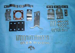 Exhaust fitting kit for Land Rover Series 1 + 2 + 3 Short wheel base (DA1293)