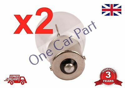 2 x 382 P21W Car Brake Lights Stop Rear Tail Clear Indicator Bulbs 12V 21W BA15S