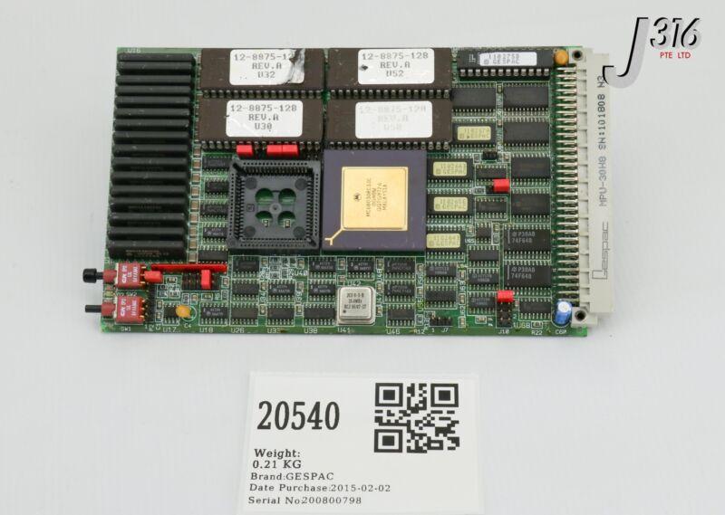 20540 Applied Materials Pcb Cpu Gespac 68030, Mpu-30h8, 22-0075-017 0660-01815