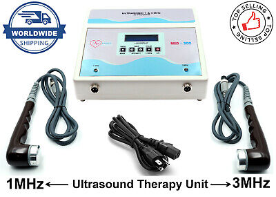 Us Professional 1mhz 3mhz Ultrasound Therapy Ce Certified Pain Relief Lcd Unit