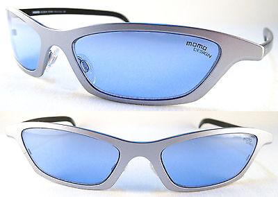 Rare MOMO DESIGN Unisex Sunglasses, Ultralight Titanium, (Momo Sunglasses)