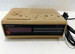 Vintage Sony Radio Digital Alarm Clock Radio Dream Machine FM/AM Model ICF-C2W