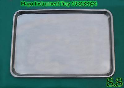 Mayo Instrument Tray 19x13x34 Surgical Dental Veterina