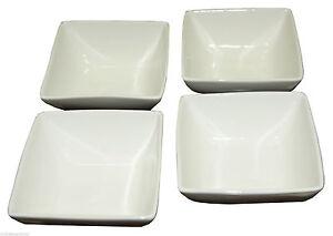 qulinar porzellan 4x sch sseln schalen bone china. Black Bedroom Furniture Sets. Home Design Ideas