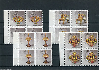 Berlin 818 - 821** Viererblock mit Bogenrandstück , Mi.28,00 € postfrisch/MNH