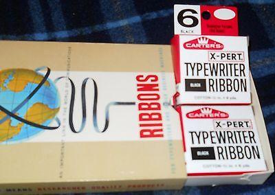 Carter's X-Pert Typewriter Ribbon #6 BLACK  Remington Portable(old model)