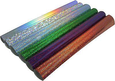 Holographic Siser Heat Press Transfer Vinyl 6 Rolls Kit - Make Faux Stone Effect