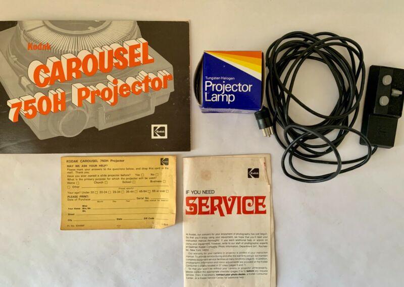 Vintage Kodak 750H Carousel Projector - PARTIALLY WORKS