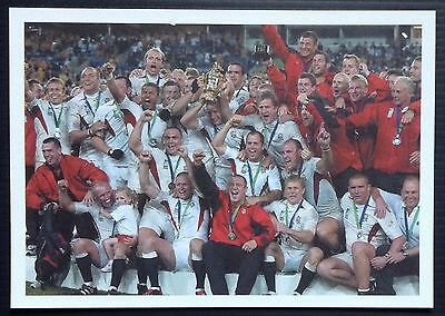 England 2003 Rugby Union World Cup Winners Picture