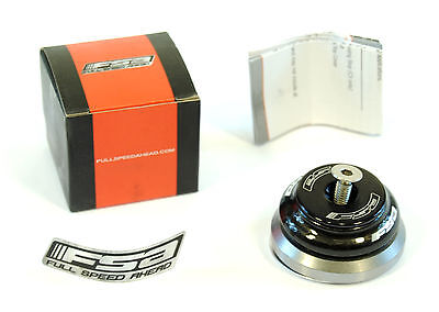 FSA Orbit CF-40 Integrated Bicycle Headset Black Carbon/Alloy 1-1/8 X 1.5