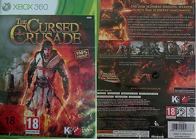 The Cursed Crusade XBox 360 Action Spiel Rachespiel Kampfspiel 100 % Uncut DEUT (Spiel, Xbox 360-action)
