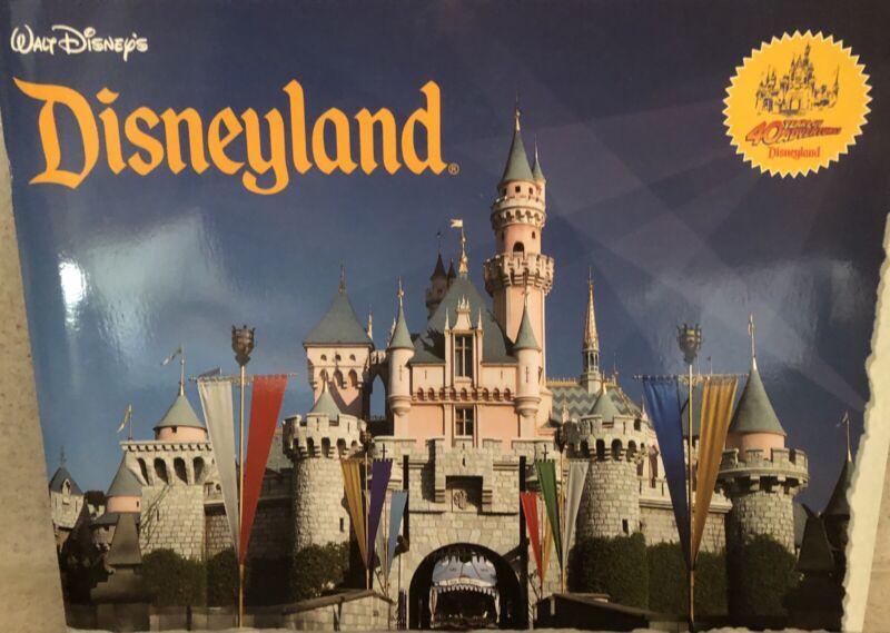 Disneyland Souvenir 40 Years of Adventures Book