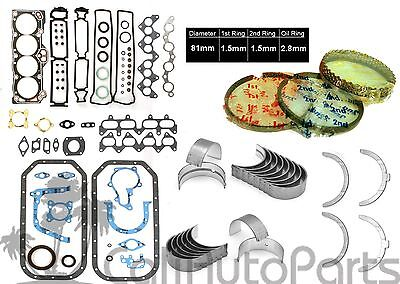 85 87 Corolla GTS MR2 16L DOHC 16V 4AGEC 4AGELC ENGINE RE RING KIT  ALL NEW