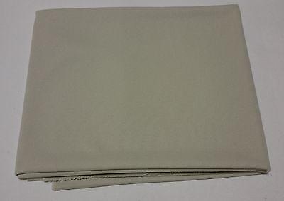 (7,55€/m²) Akustikstoff Lautsprecher Abdeckung Bespannstoff 150x75cm weiss creme