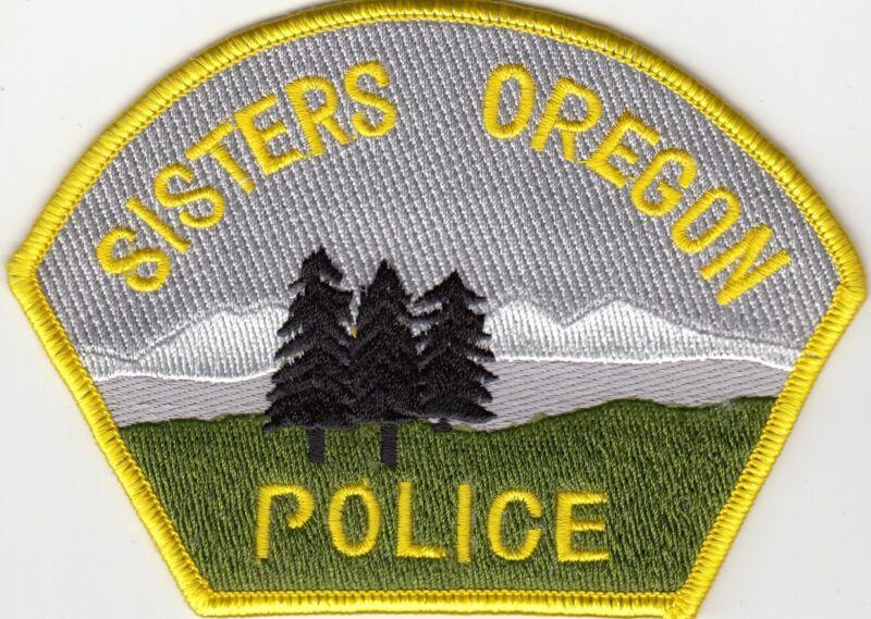 SISTERS OREGON OR POLICE SHOULDER PATCH