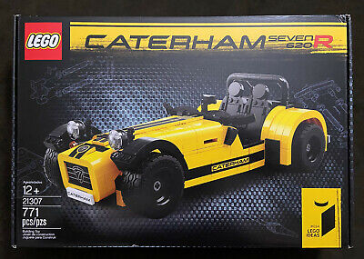 LEGO Ideas Caterham Seven 620R 21307 Retired Sealed NEW