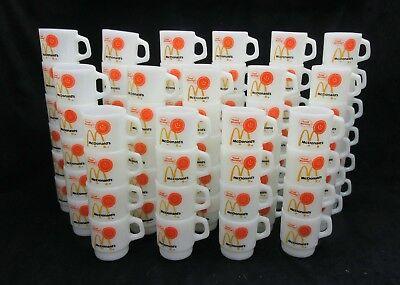 Vintage Fire King McDonald's Good Morning mug Minty Mint   (Many available)