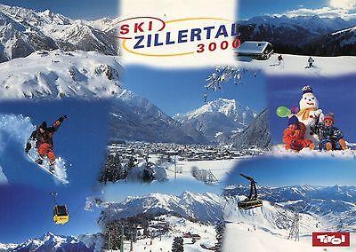 Alte Postkarte - Ski Zillertal 3000 online kaufen