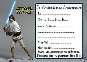 5 cartes invitation anniversaire star wars 02 d