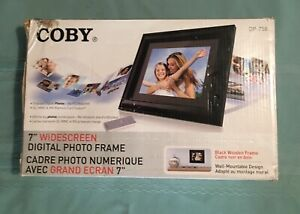 "Coby 7""  DP - 758 Widescreen Digital Photo Frame"
