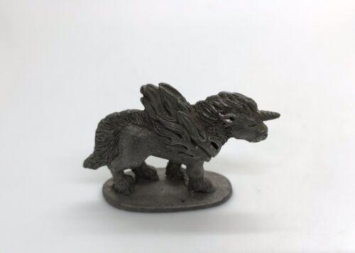 Pewter Miniature Fantasy Mystical Pegasus Figurine