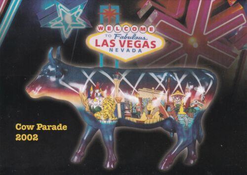Cow Parade 2002 Las Vegas Convention Center Invitation Las Vegas Nevada 2002