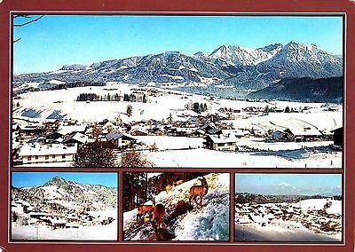 Obermaiselstein / Allgäu , Ansichtskarte 1992 gelaufen