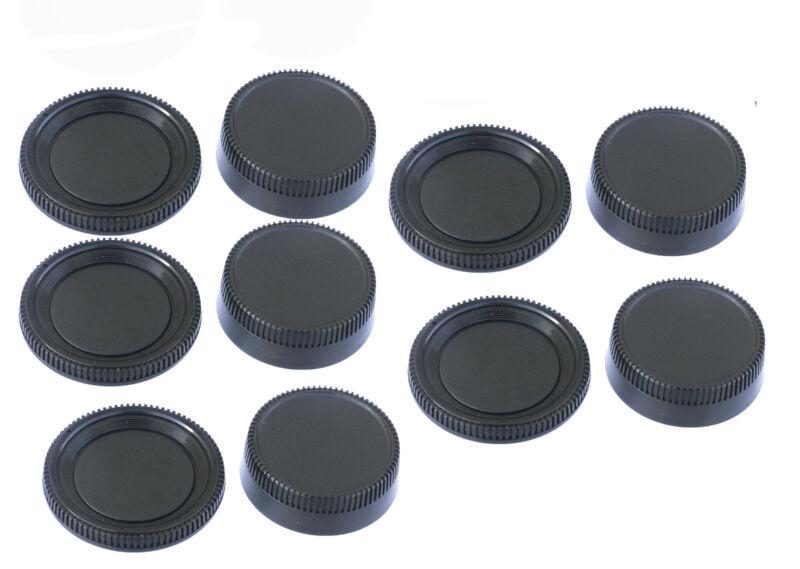 5pcs x Rear Lens Cover +Camera Body Caps for Nikon DSLR D3400 D3300 D3200 D850