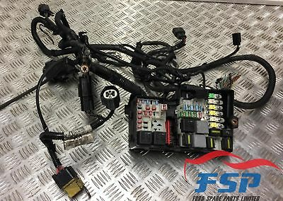 FORD FOCUS C-MAX GHIA 2002-2007 FUSE BOX AND WIRING LOOM