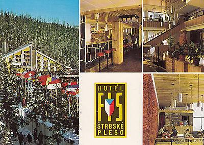 Post Card - Vysoké Tatry (Hohe Tatra) / Štrbské pleso - Hotel FIS