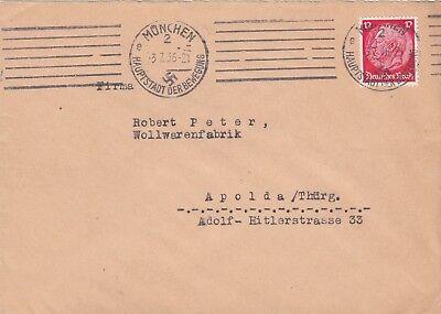 MÜNCHEN, Briefumschlag 1936, Tempo Warenverkaufs GmbH