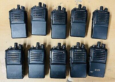Lot Of 10 Motorola Vertex Standard Vx-351-g7-5 Uhf 5w 16ch Compact Portables