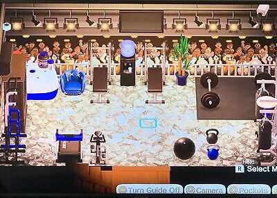 Full Gym Set Animal Crossing New Horizons