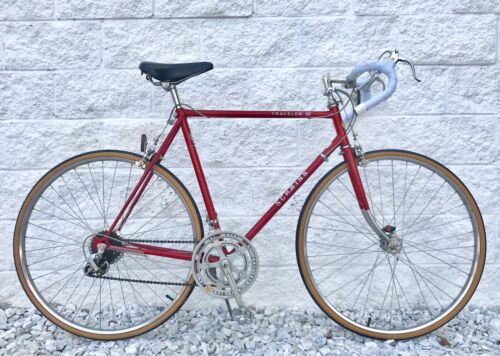 Vintage Schwinn Traveler III 60cm 2x5 Road Bike ~ NICE CONDITION ~ JAPAN-MADE
