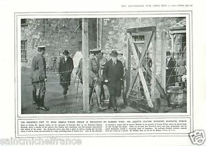 """Irish Rebels Prison Dublin/ Tanganyika Dar es Salaam Bush WWI 14 18 PLANCHE 1916 - France - PORT GRATUIT A PARTIR DE 4 OBJETS BUY 4 ITEMS AND WORLDWIDE SHIPPING IS FREE EXCEPT USA, CANADA, AMERICA ONLY TRACKING MAIL PLANCHE 1916 RECTO-VERSO ETAT VOIR PHOTO FORMAT 28 CM X 20 CM SIZE : 11.02"""" X 7.87 inch G.108.93 - France"""