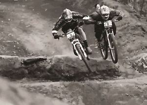 MOUNTAIN BIKE MTB DOWNHILL   POSTER PICTURE WALL ART PRINT A3 AMK2482