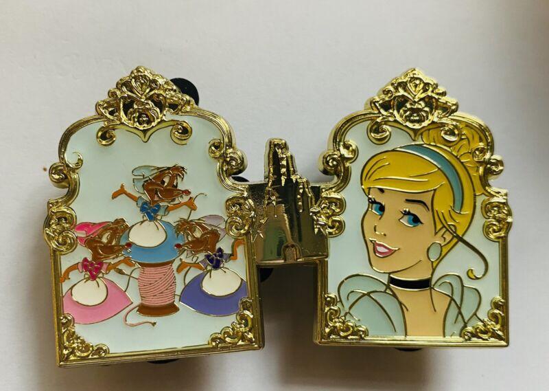 HKDL Hong Kong Disney Pin 2021 Pin Trading Carnival Princess Cinderella Pin Set